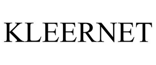 mark for KLEERNET, trademark #85454816