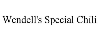 mark for WENDELL'S SPECIAL CHILI, trademark #85454858