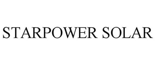 mark for STARPOWER SOLAR, trademark #85455050