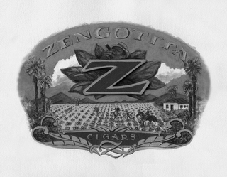 mark for ZENGOTITA Z CIGARS Z, trademark #85455118