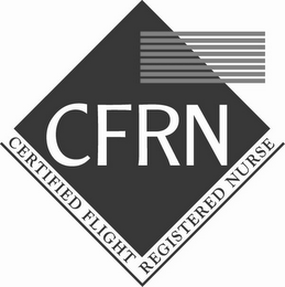 mark for CFRN CERTIFIED FLIGHT REGISTERED NURSE, trademark #85455613
