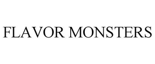 mark for FLAVOR MONSTERS, trademark #85455911