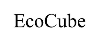 mark for ECOCUBE, trademark #85456438