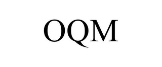 mark for OQM, trademark #85456772