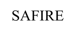 mark for SAFIRE, trademark #85457085