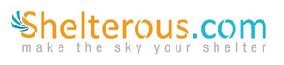 mark for SHELTEROUS.COM MAKE THE SKY YOUR SHELTER, trademark #85457118