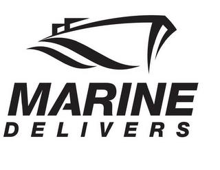 mark for MARINE DELIVERS, trademark #85457162