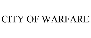 mark for CITY OF WARFARE, trademark #85457277