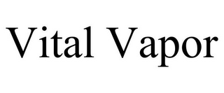 mark for VITAL VAPOR, trademark #85457620