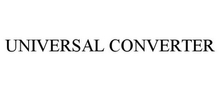 mark for UNIVERSAL CONVERTER, trademark #85457631