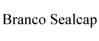 mark for BRANCO SEALCAP, trademark #85458122
