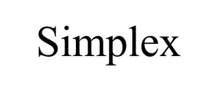 mark for SIMPLEX, trademark #85458916