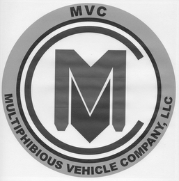 mark for MULTIPHIBIOUS VEHICLE COMPANY, LLC M V C, trademark #85459117