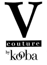 mark for V COUTURE BY KOOBA, trademark #85459350