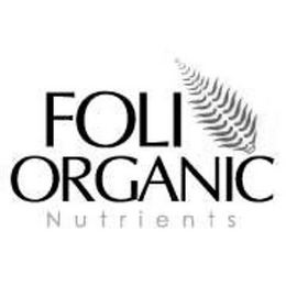 mark for FOLI ORGANIC NUTRIENTS, trademark #85459408