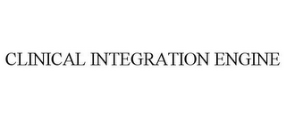 mark for CLINICAL INTEGRATION ENGINE, trademark #85459420