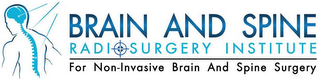 mark for BRAIN AND SPINE RADIOSURGERY INSTITUTE FOR NON-INVASIVE BRAIN AND SPINE SURGERY, trademark #85459472