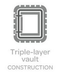 mark for TRIPLE-LAYER VAULT CONSTRUCTION, trademark #85459879
