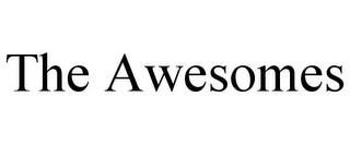 mark for THE AWESOMES, trademark #85460196