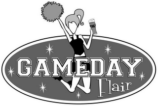 mark for GAMEDAY FLAIR, trademark #85460335