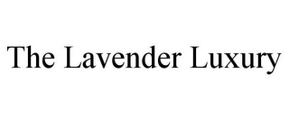 mark for THE LAVENDER LUXURY, trademark #85460549
