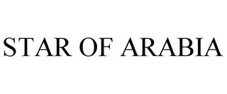 mark for STAR OF ARABIA, trademark #85461032
