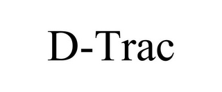 mark for D-TRAC, trademark #85461103