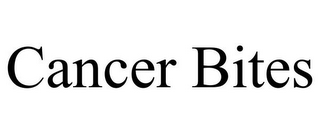 mark for CANCER BITES, trademark #85461544
