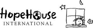 mark for HOPEHOUSE INTERNATIONAL, trademark #85461646