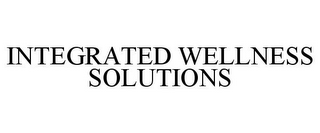 mark for INTEGRATED WELLNESS SOLUTIONS, trademark #85461980