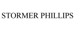 mark for STORMER PHILLIPS, trademark #85462109