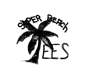 mark for SUPER BEACH TEES, trademark #85462132