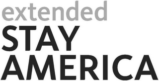 mark for EXTENDED STAY AMERICA, trademark #85462167