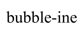 mark for BUBBLE-INE, trademark #85462390