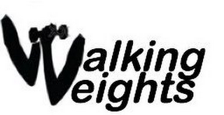mark for WALKING WEIGHTS, trademark #85462495
