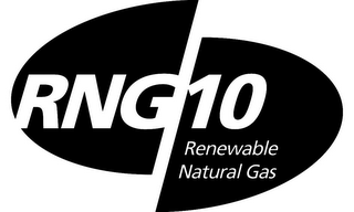 mark for RNG 10 RENEWABLE NATURAL GAS, trademark #85462993