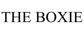 mark for THE BOXIE, trademark #85463095