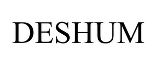 mark for DESHUM, trademark #85463167