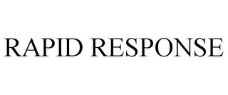 mark for RAPID RESPONSE, trademark #85463339