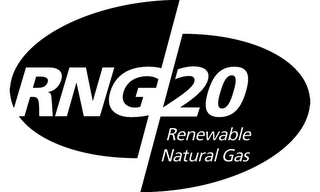 mark for RNG 20 RENEWABLE NATURAL GAS, trademark #85463493