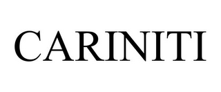 mark for CARINITI, trademark #85463824