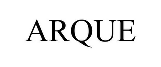 mark for ARQUE, trademark #85464122