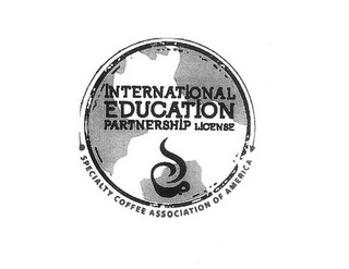 mark for INTERNATIONAL EDUCATION PARTNERSHIP LICENSE SPECIALTY COFFEE ASSOCIATION OF AMERICA, trademark #85464148