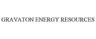 mark for GRAVATON ENERGY RESOURCES, trademark #85464180