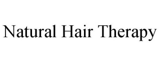 mark for NATURAL HAIR THERAPY, trademark #85464224