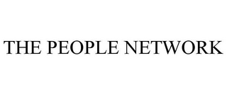 mark for THE PEOPLE NETWORK, trademark #85464628