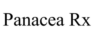 mark for PANACEA RX, trademark #85465584