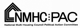 mark for NMHC PAC NATIONAL MULTI HOUSING COUNCIL POLITICAL ACTION COMMITTEE, trademark #85465738