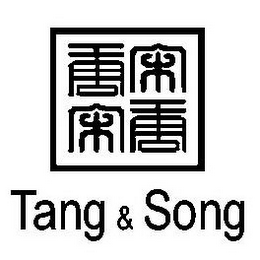 mark for TANG & SONG, trademark #85465870
