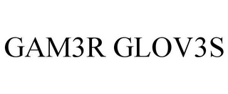 mark for GAM3R GLOV3S, trademark #85466122